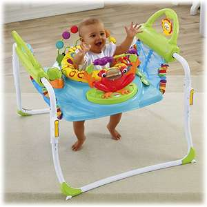 "Fisher Price ""First Steps Jumperoo"" half price £62.50 Sainsburys in-store"