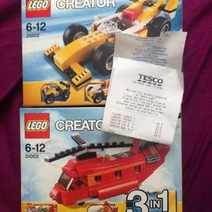 Lego creator 3 in 1 scanning at £2.50 @ Tesco