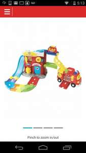 Vtech Toot toot Fire Station with Big Fire Engine - £20.99 @ ARGOS