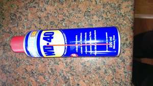 WD 40 220ml can £1.99 @ Home Bargains