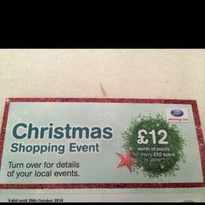 Boots £12 points event - second Christmas shopping event