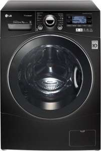 LG TrueSteam F14A7FDSA6 Freestanding Washing Machine - Black  [9kg] price matched to £616.99 at ao.com