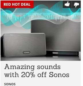 20% off Sonos products for Virgin tribe members
