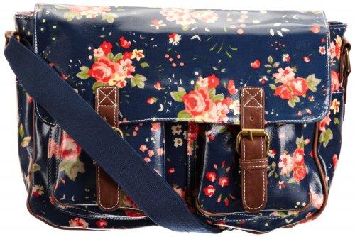 SwankySwans Women's Jasper Florentia Satchel Navy Blue SS01030 Large £7.48 @ Amazon (free delivery £10 spend/prime)