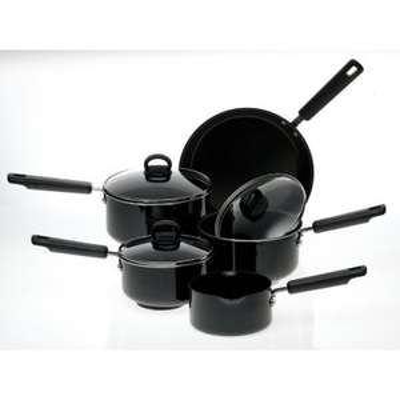 5 piece anodised pan set at prestige was £100 now £32 plus p&p