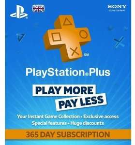 playstation plus 1 year ps+ £34.90 @ CDKEYS.com