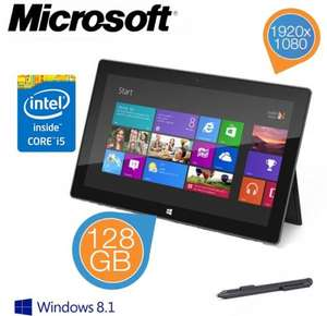 Microsoft Surface Pro 2 - Intel Dual Core i5 and 128GB SSD £419.95 @ IBOOD