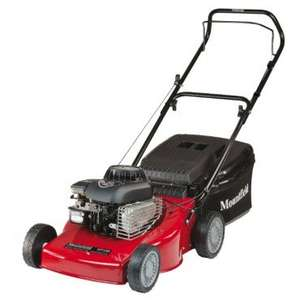 Mountfield HP180 Petrol Rotary Hand Propelled Lawnmower Now £199 ( Reduced from £299 ) @ Mowdirect & Free Delivery
