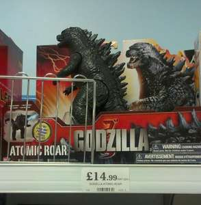 Godzilla atomic roar £14.99 @ home bargins