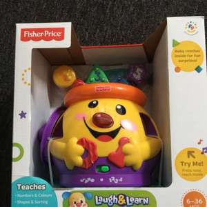 Fisher price cookie shape surprise £10 @ asda instore & online
