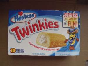 USA Hostess Twinkies Box of 10 only £2.99 @ B&M Stores