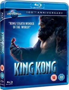 King Kong (2005) BLU-RAY augmented reality edition £3.46 at play/zoverstocks