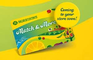 Collect 5k points to get a free £5 voucher with the new Match & More Card @ Morrisons