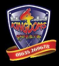 4 Kingdoms adventure Park 2 for 1 offer this weekend £17 for family of 4