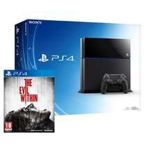 ps4 bundle Console + The Evil Within £334.85 @ Shopto