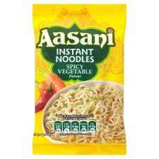 Aasani Spicy Vegetable Noodles 9 for £1.00 @ Tesco