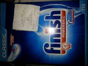 finish powerball classic dishwasher 114 tablets £8.49 @ Family Bargains