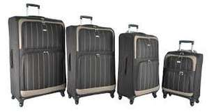 "32 "" superlight Aerolite suitcase in choco-brown - £34.99 delivered @ Amazon and sold by Luggage Travel Bags Ltd"