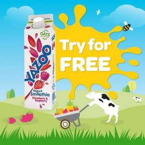 Free Yazoo Yogurt Smoothie