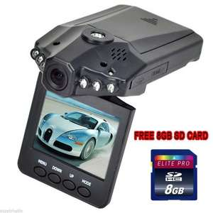 In car CCTV camera including 8gb SD Card - £9.99 delivered @ Amazon