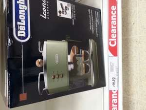 Delonghi Icona vintage espresso coffee machine £46.50 instore @ Tesco
