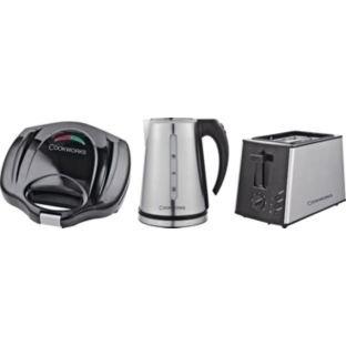 cookworks kettle/toaster/sandwich maker @ argos was £49.99 now £24.99