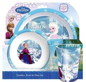 Spearmark 3-Piece Frozen Tumbler/ Bowl and Plate Set £6 + FREE Delivery on orders over £10 @ Amazon