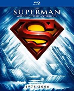 Various Blu-Rays Inc.Superman Complete Collection Blu Ray £6.63 with Code @ Rakuten  Plus Many more