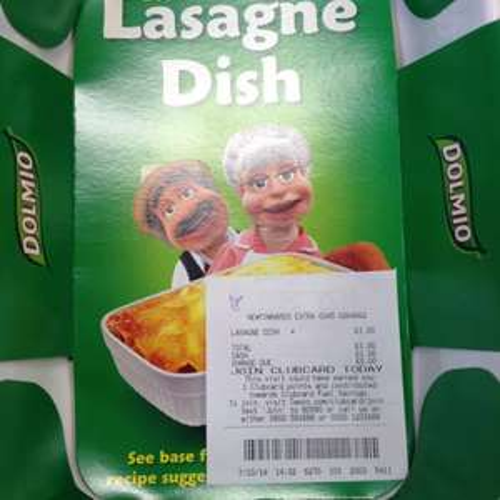 Dolmio Lasagne dish now £1 in tesco