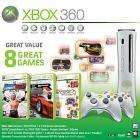 Xbox 360 Console with PGR 3, extra Wireless Controller, Live Arcade and WWESmackdown VS Raw 2007 £26