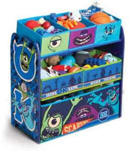 Monsters Inc - Kids Toy Storage £9.99 @ Home Bargains