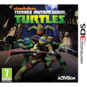 Teenage Mutant Ninja Turtles (3DS) only £3.98 delivered with code @ Rakuten / Gameseek