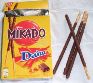 Mikado chocolate sticks HALF PRICE £1.39 to 69p at Tesco