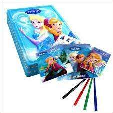 Disney Frozen Happy Activity tin £4 down from £16.99 at Tesco - free Click and Collect
