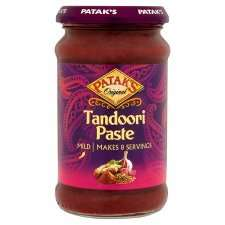 Patak's Mild Tandoori Curry Paste £1.20 at Tesco