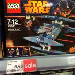 Lego Star Wars 75041 Vulture Droid half price @ Asda instore, now £9.98!