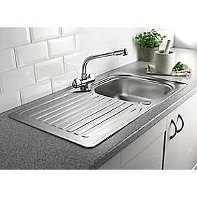 Franke Stainless Steel Kitchen Sink and Mixer Tap £99.99 @ screwfix