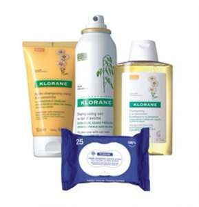 Klorane gift set £3 when you subscribe to homes and gardens magazine (cancel after free gift arrives)