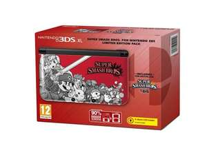 3DS XL - Limited Edition with Super Smash Bros + Free Game (when registering) - £199.85 @ Amazon