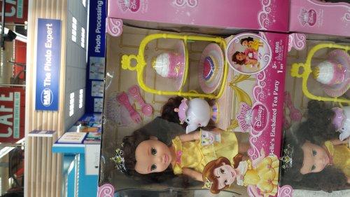 Disney Princess Belle's Enchanted Tea Party @ Tesco instore and online £20