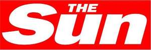 Get free delivery of The Sun for 12 weeks - only pay for the paper