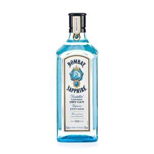 Bombay Sapphire 70cl with FREE Glass only £17.50 @ Booths