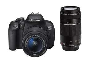 Canon EOS 700D DSLR Camera 18-55mm STM & 75-300mm Twin Lens Kit | KOGAN | £438.99 Delivered