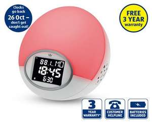 Sunrise Alarm Clock £24.99 @ Aldi Sunday 13th October