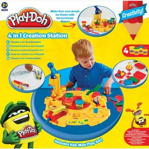 Play-Doh 4 In 1 Creation Station £10 @ Asda Direct & Instore