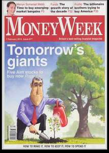 4  x Free Issues MONEYWEEK Magazine @ WH Smith