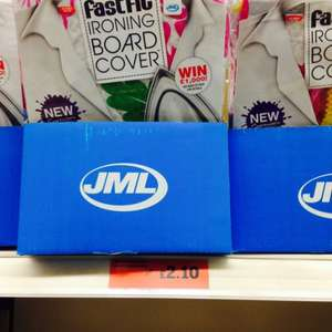 JML fast fit ironing board cover £2.10 instore at sainsburys (rescued from £7) (ideal wife's xmas present although no doubt sold out before Christmas eve and it's not in the petrol station)