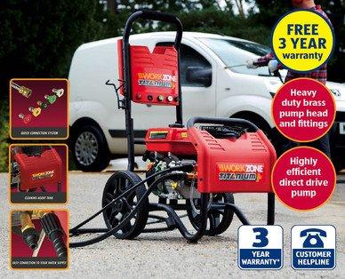 Aldi Workzone Petrol Power Jet Washer £199.99