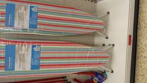 Ironing board spots/stripes/gingham was £25 then £12.50 now £7.50 instore at Sainsburys