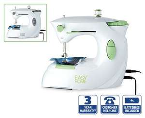 Mini Sewing Machine £13.99 at ALDI